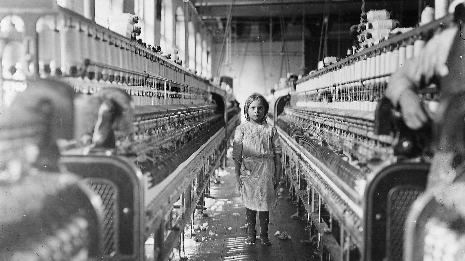 the exploitation of young factory workers in the 1930s