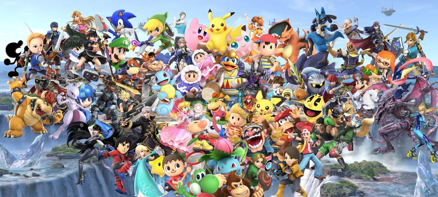 """Фанаты скрестили трейлеры Super Smash Bros. Ultimate и """"Войны бесконечности"""""""