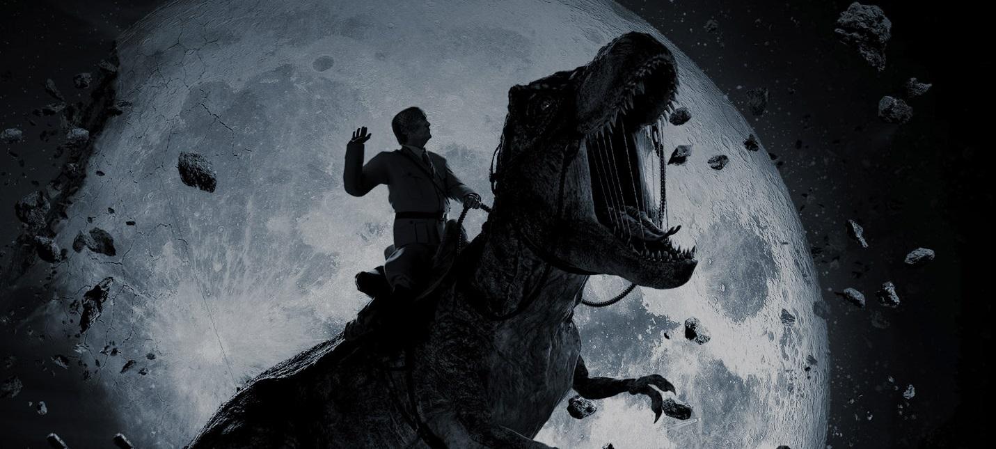 """Рептилоиды, нацисты и динозавры в новом тизере трэш-фильма """"Железное небо 2"""""""