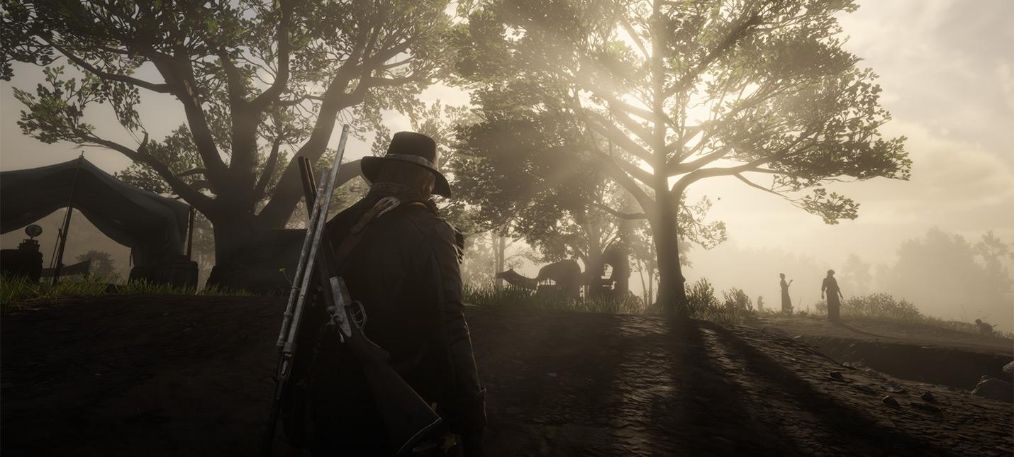День из жизни обычных NPC Red Dead Redemption 2