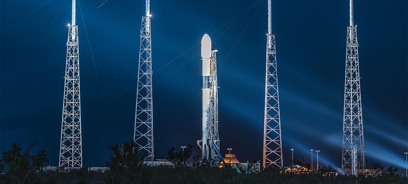 Казахстан запустит научные спутники на ракете SpaceX
