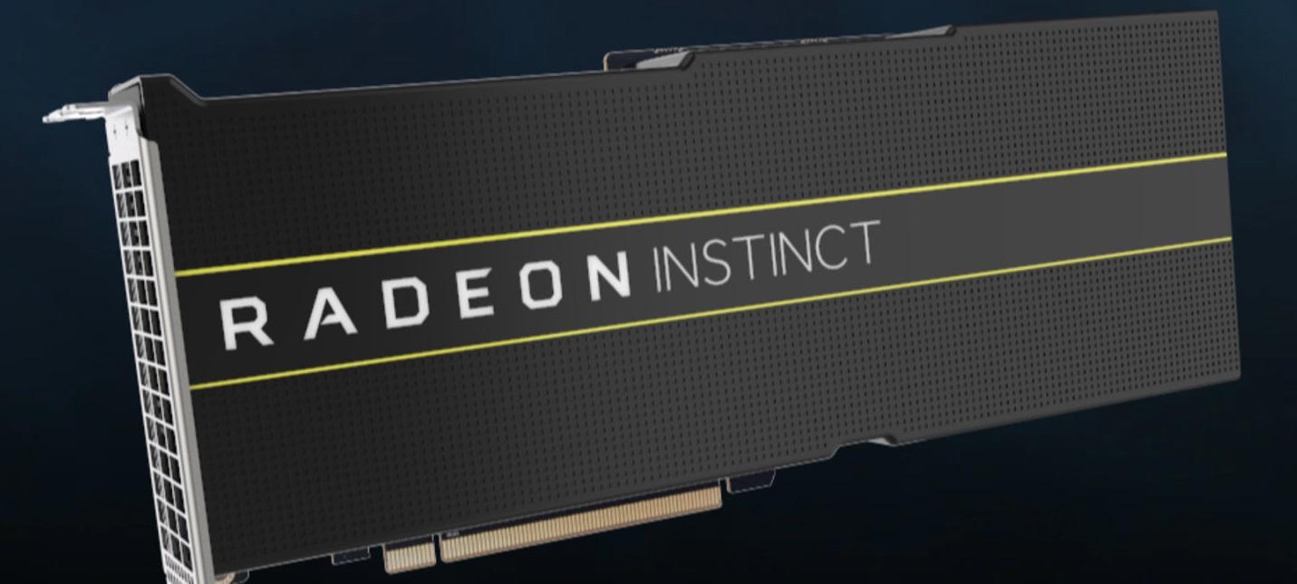 AMD представила первые в мире видеокарты с 7-нанометровым GPU