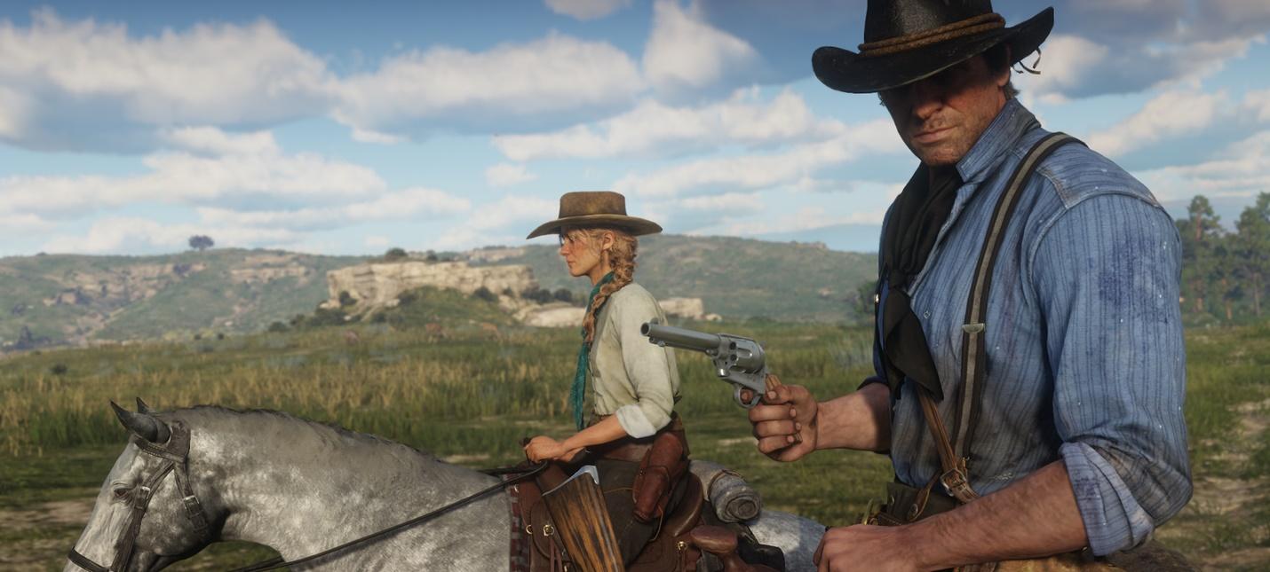 Геймер скормил суфражистку крокодилу в Red Dead Redemption 2
