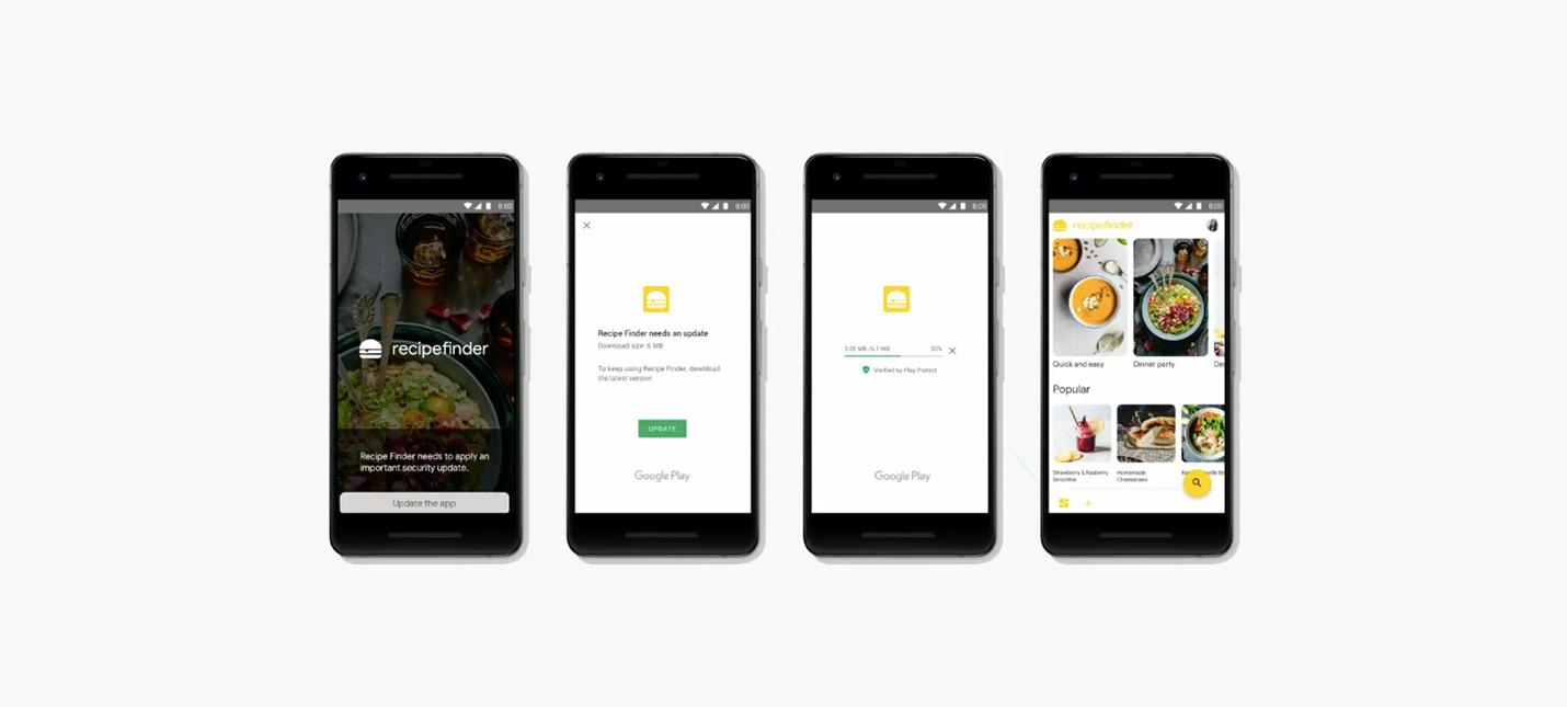 Приложения Android будут обновляться во время использования