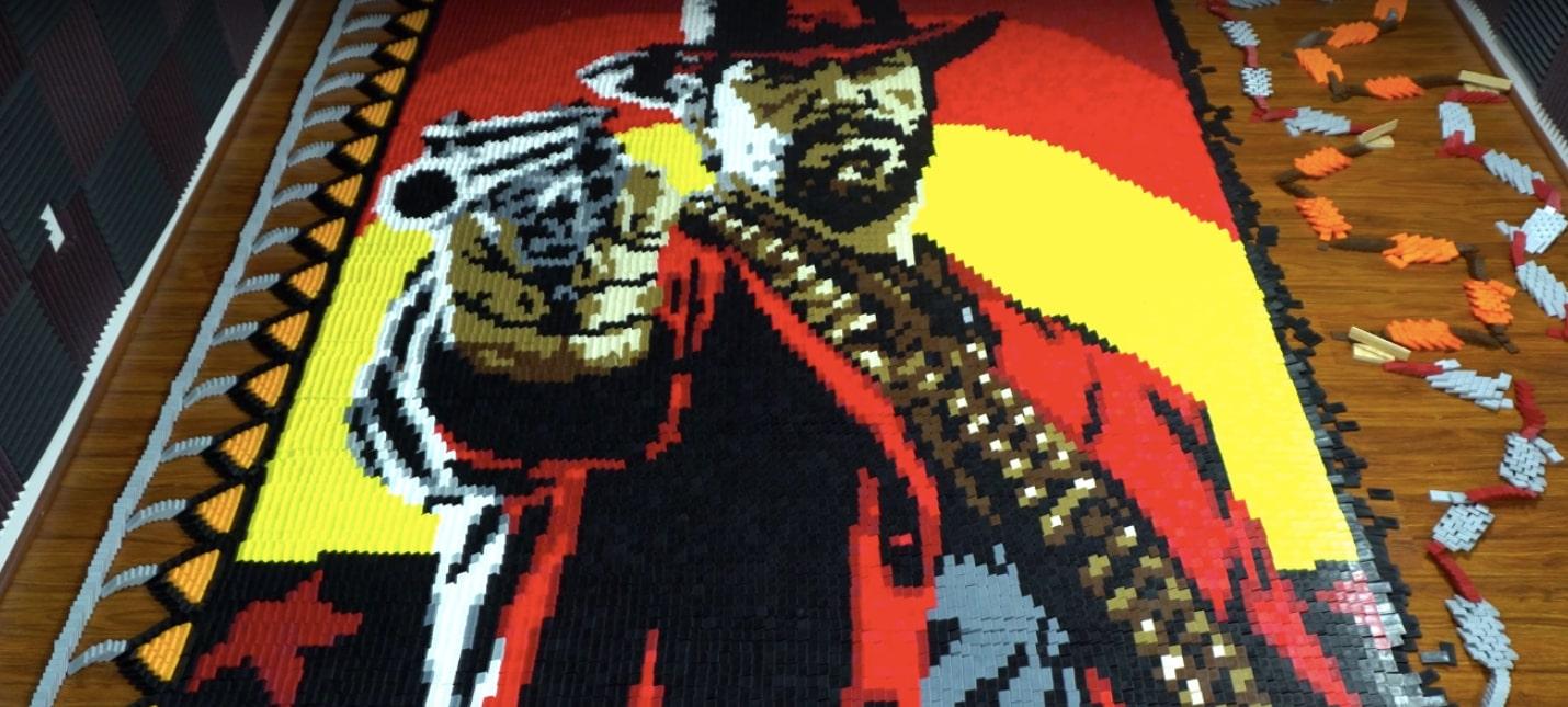 Постер Red Dead Redemption 2 из 29 375 костей домино