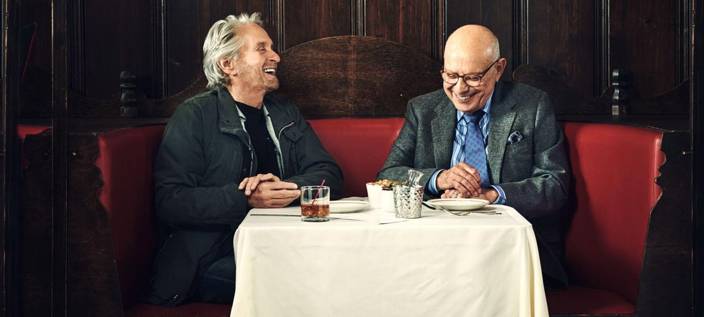Второй трейлер комедийного сериала The Kominsky Method с Аланом Аркином и Майклом Дугласом