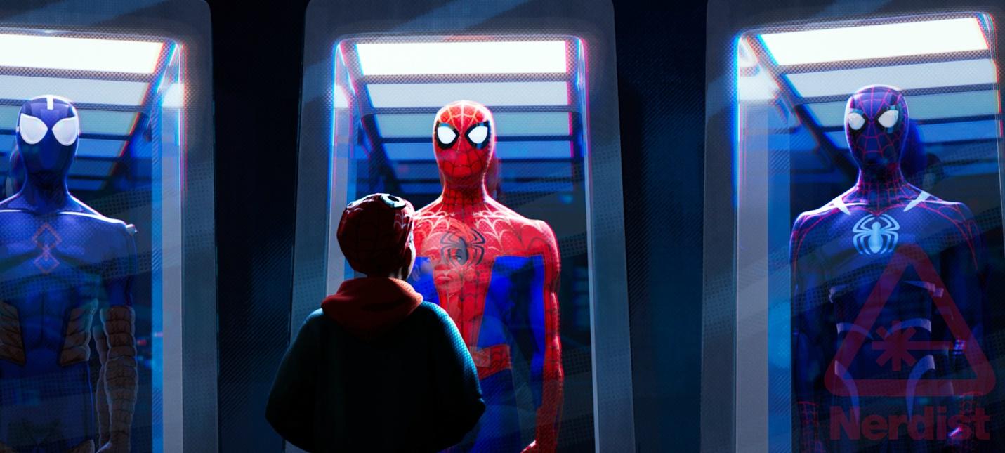 """Новый трейлер анимационного фильма """"Человек-паук: Через вселенные"""""""
