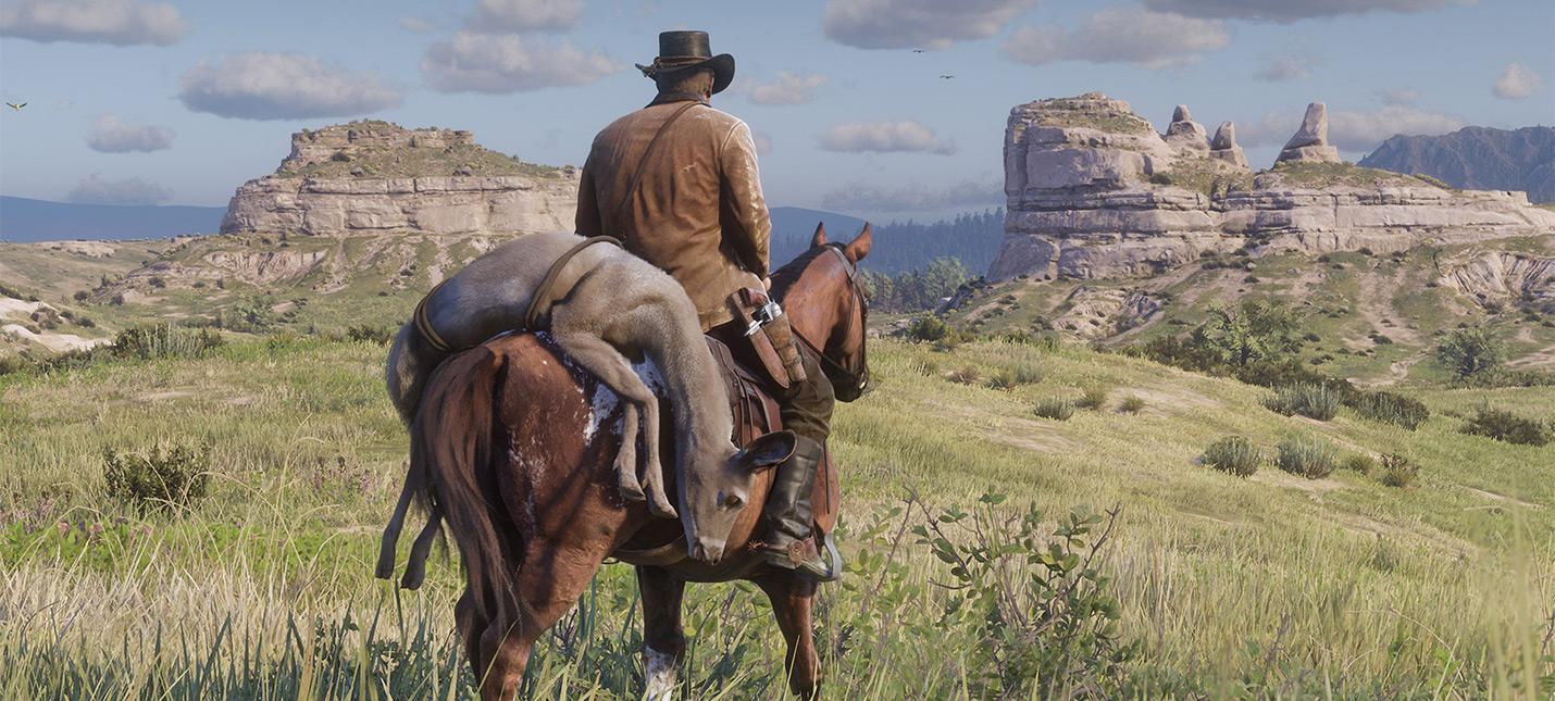Как меняется открытый мир в Red Dead Redemption 2 с течением времени