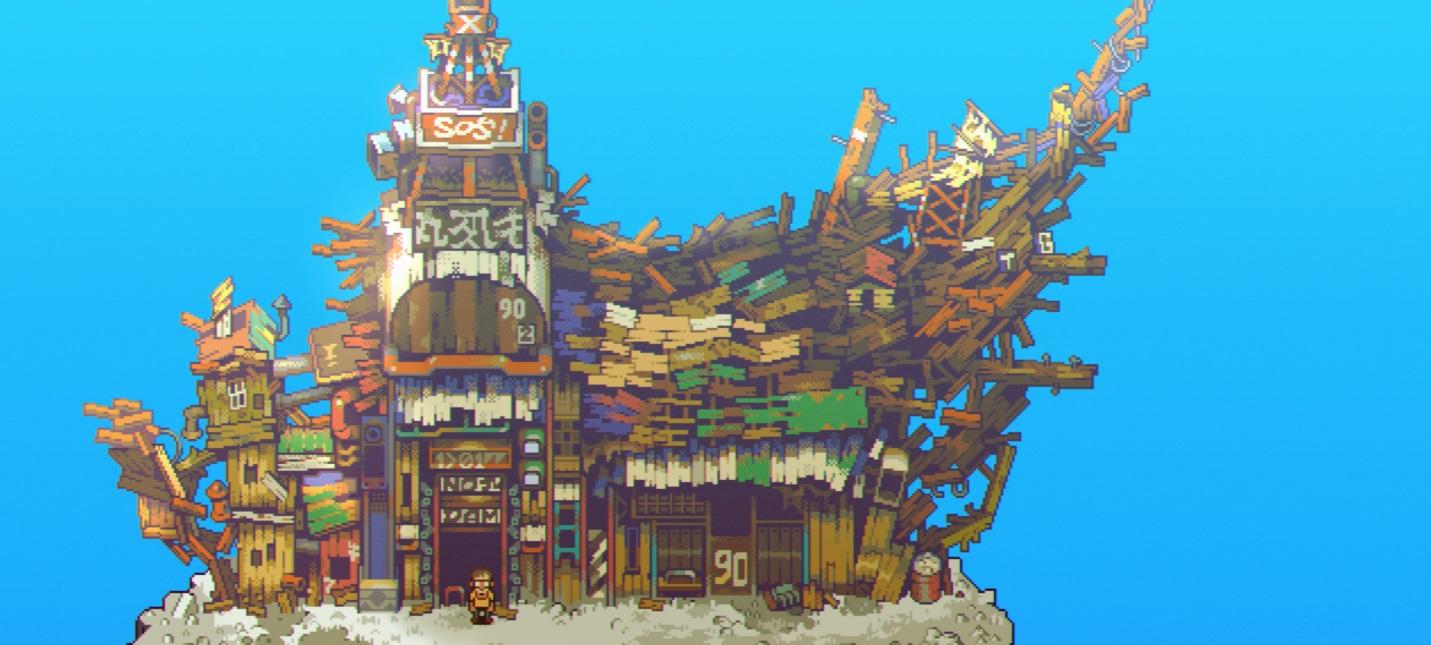 15 минут геймплея Eastward — RPG-адвенчуры в стиле аниме 90-х годов