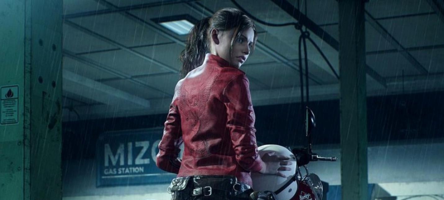 15 минут геймплея Resident Evil 2 за Клэр Редфилд