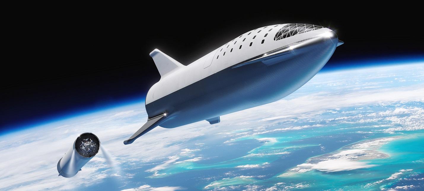 Илон Маск переименовал ракету Big Falcon Rocket в Starship