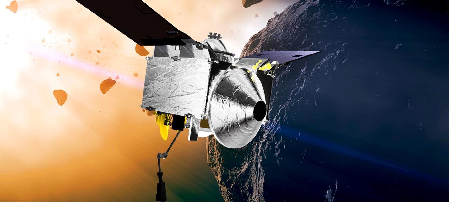 NASA протестировала робо-руку космического аппарата OSIRIS-REx