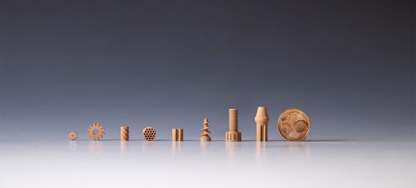 Эти точные детали напечатаны на 3D-принтере при помощи искусственной лунной пыли