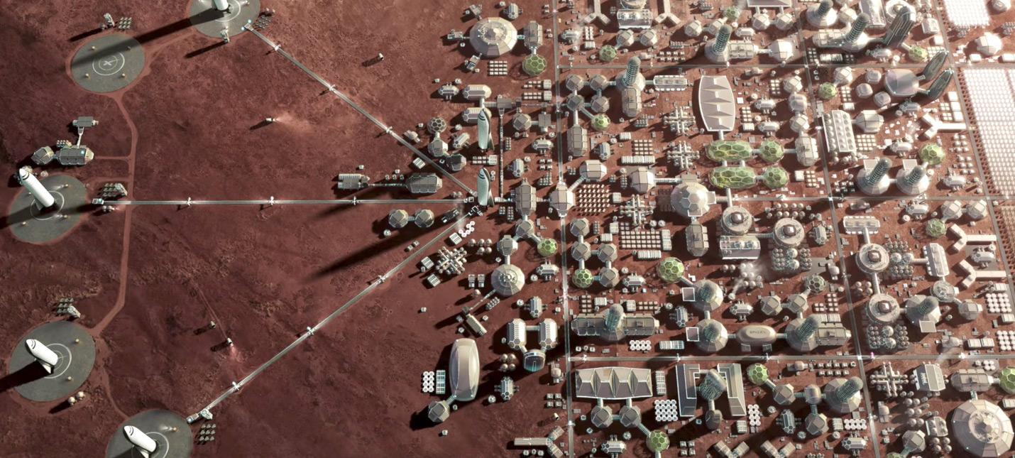 Илон Маск отрицает, что колония на Марсе предназначена для богачей