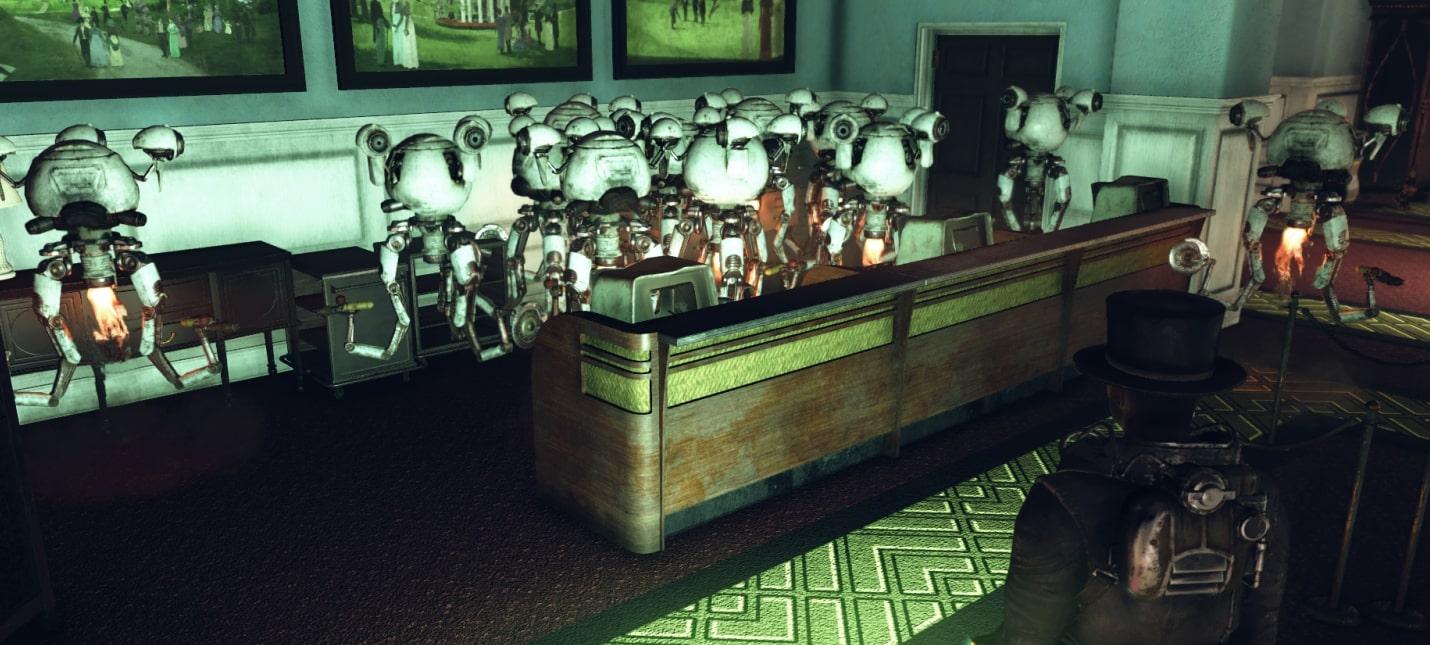 Баг в Fallout 76 безостановочно спавнит роботов-дворецких