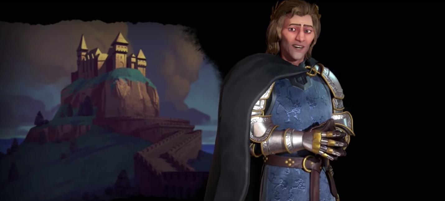 Матьяш I — лидер Венгрии в Civilization VI: Gathering Storm