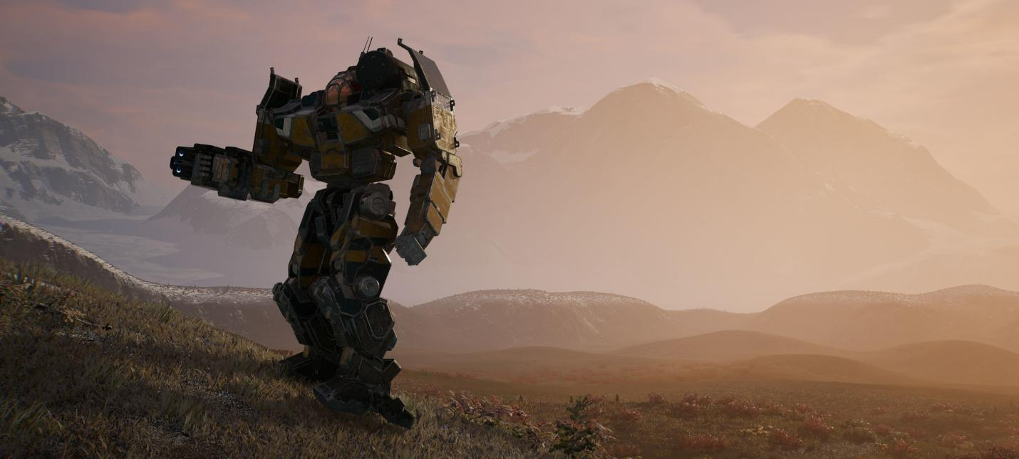 20 минут геймплея MechWarrior 5: Mercenaries