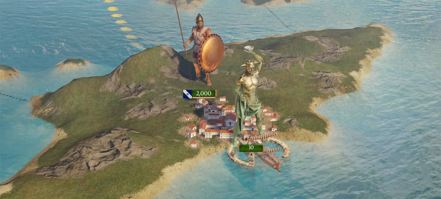 В Imperator: Rome на карте будут Чудеса Света