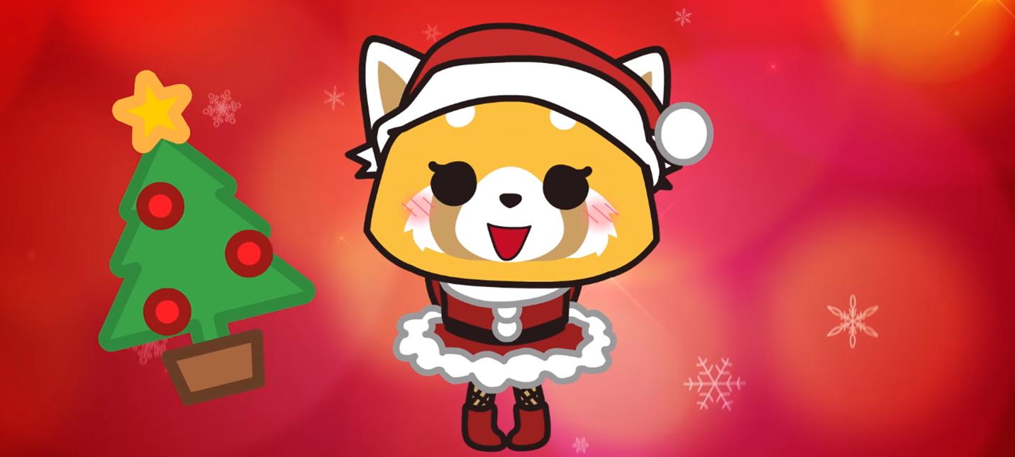 Трейлер рождественского эпизода аниме Aggretsuko