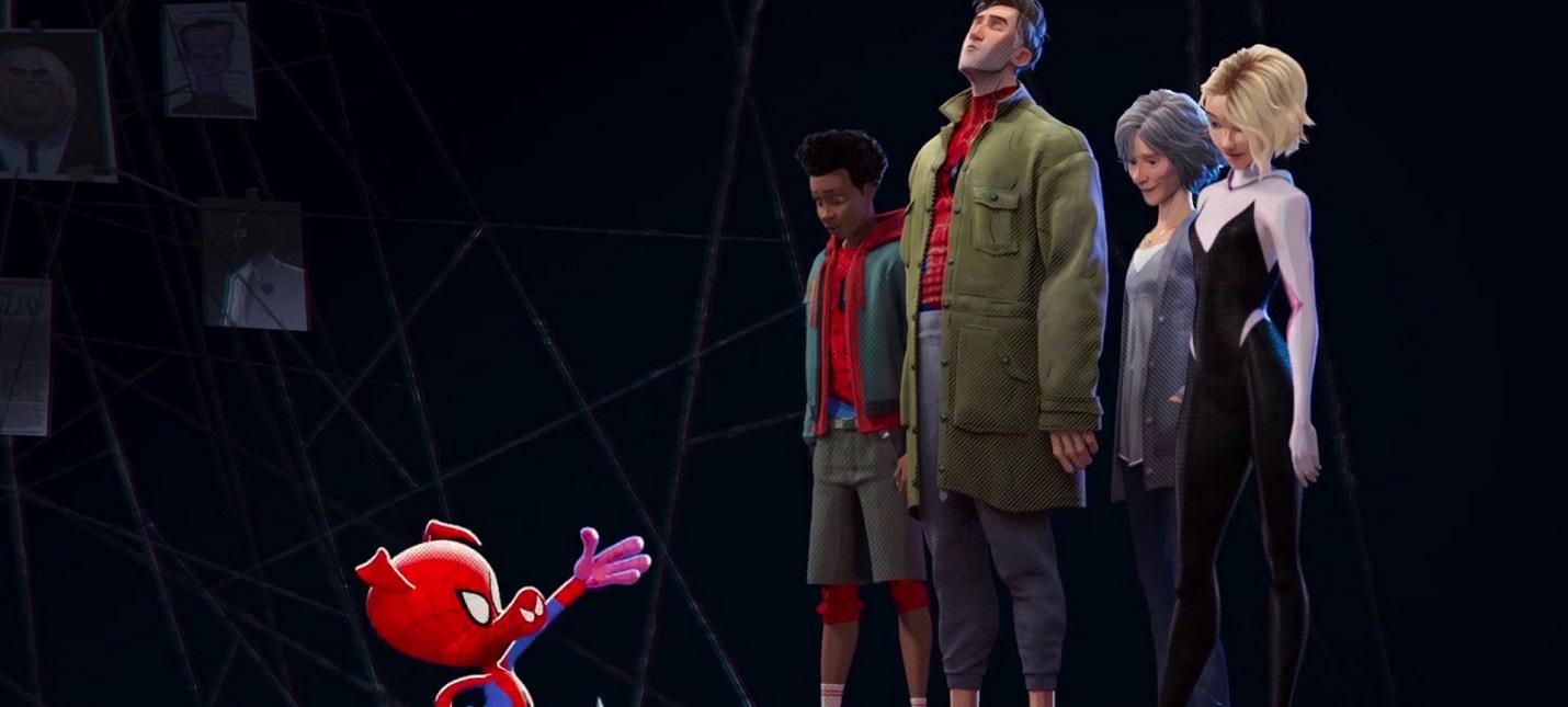 """Свин-паук в новом видео """"Человек-паук: Через вселенные"""""""