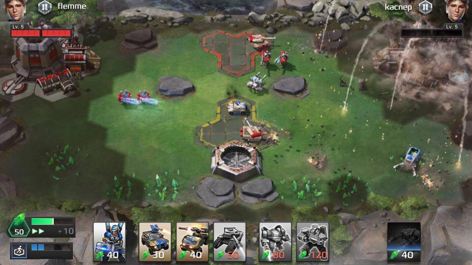 Стратегия в кармане: Обзор C&C Rivals