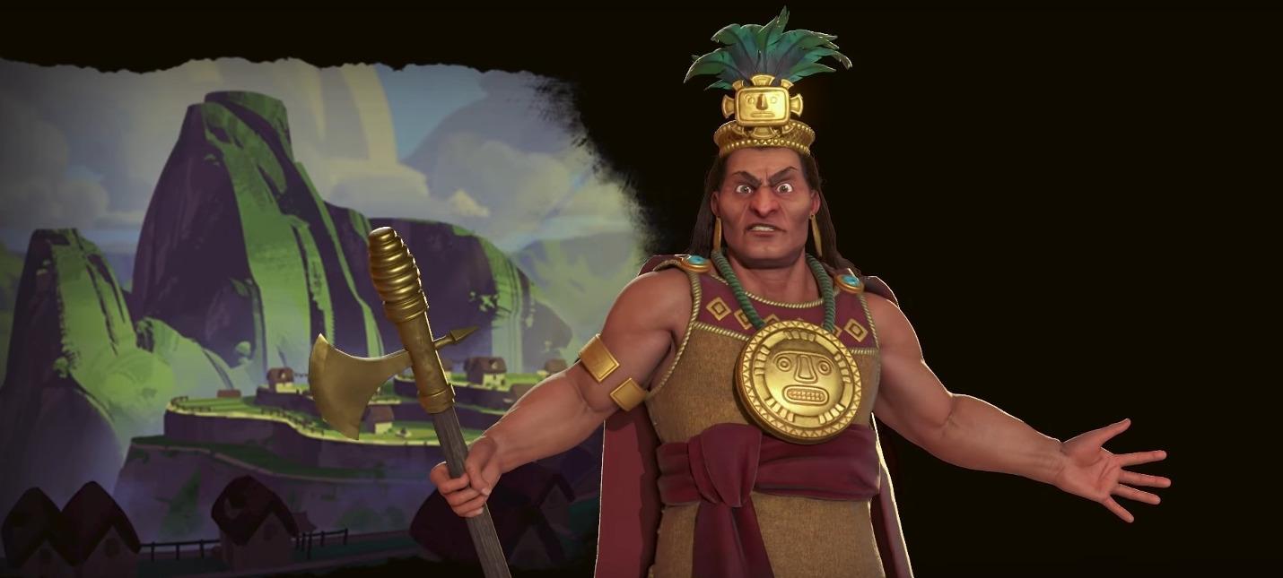 Пачакутек — лидер Инков в Civilization VI: Gathering Storm