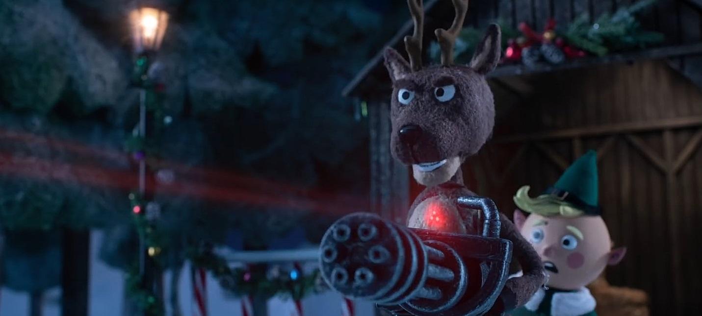 """Охота на Санту: Вышла рождественская короткометражка по """"Хищнику"""""""