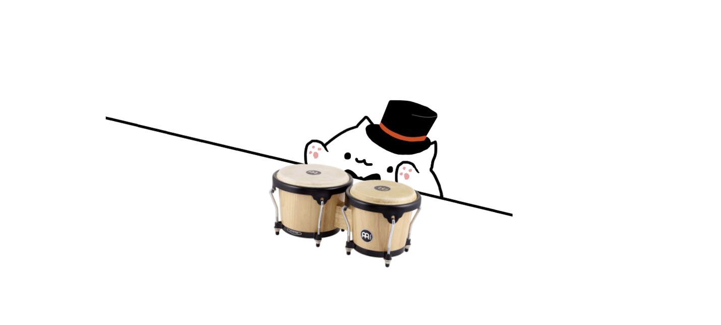 Интерактивный Кот Бонго позволяет играть на музыкальных инструментах
