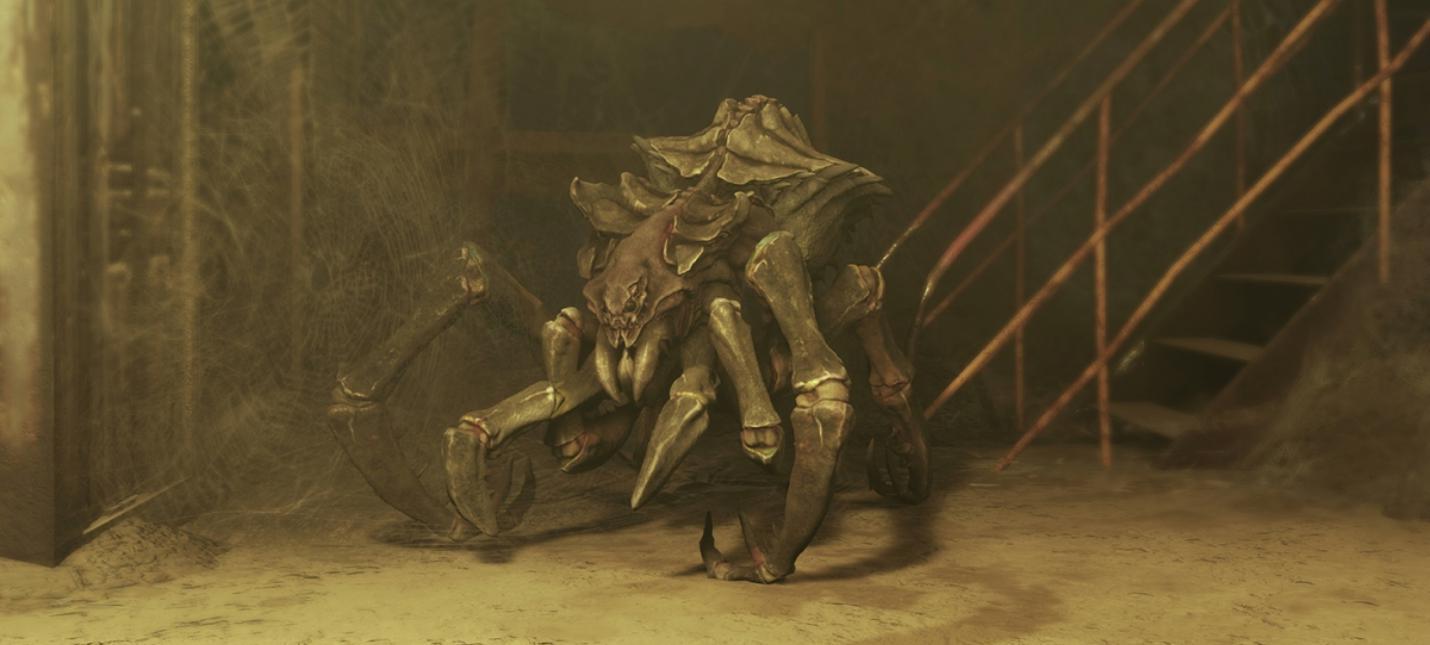 В Metro Exodus игроков будут поджидать огромные пауки