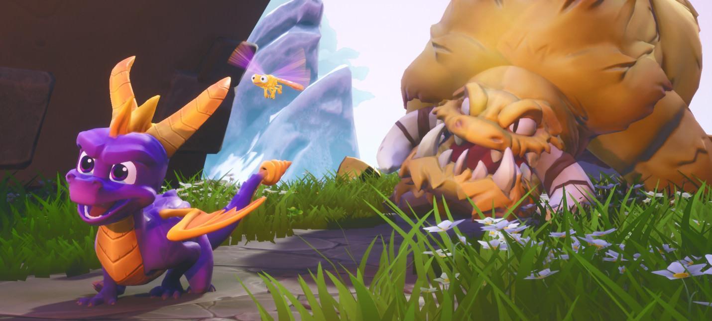 Spyro Reignited Trilogy оказалась успешнее оригинальных игр