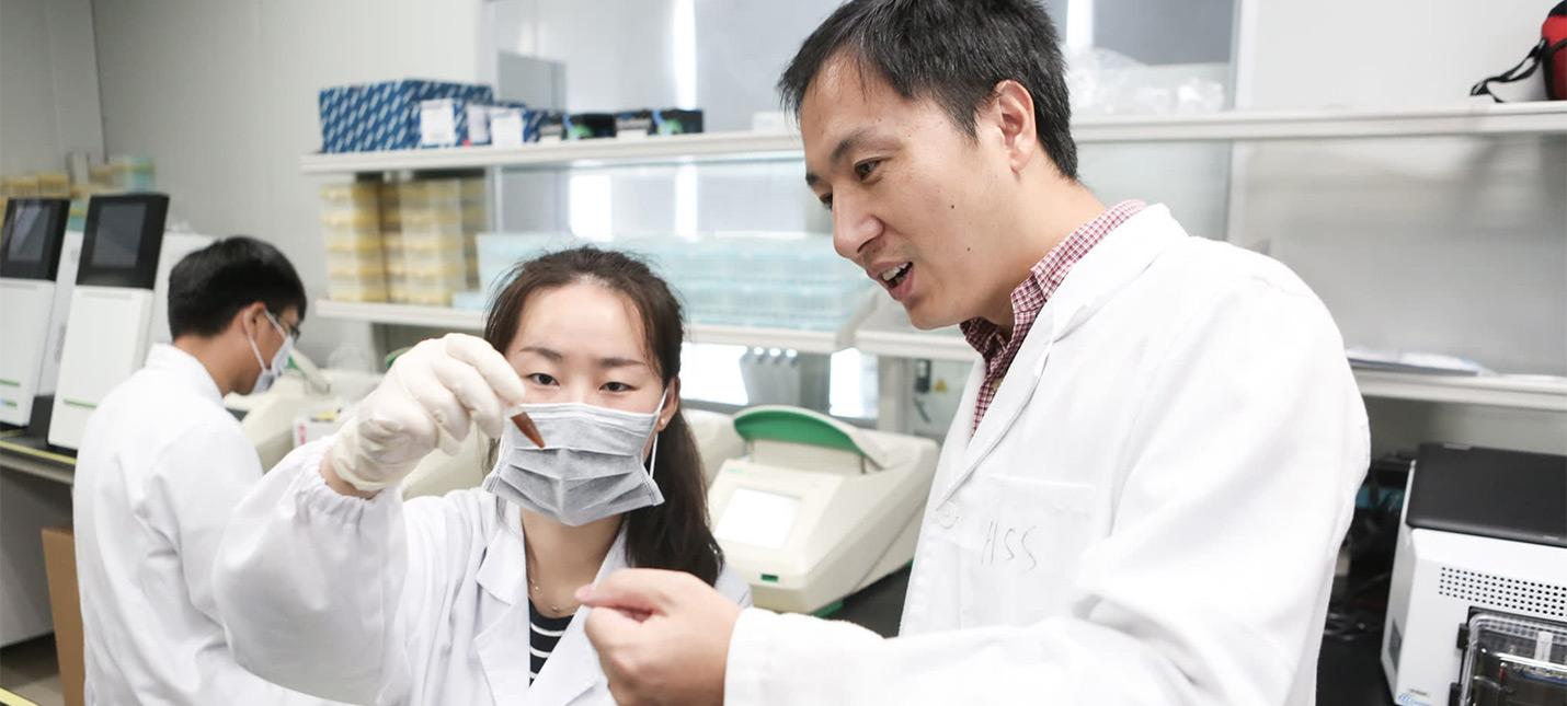 В Китае задержан ученый, утверждающий, что создал детей с измененными генами