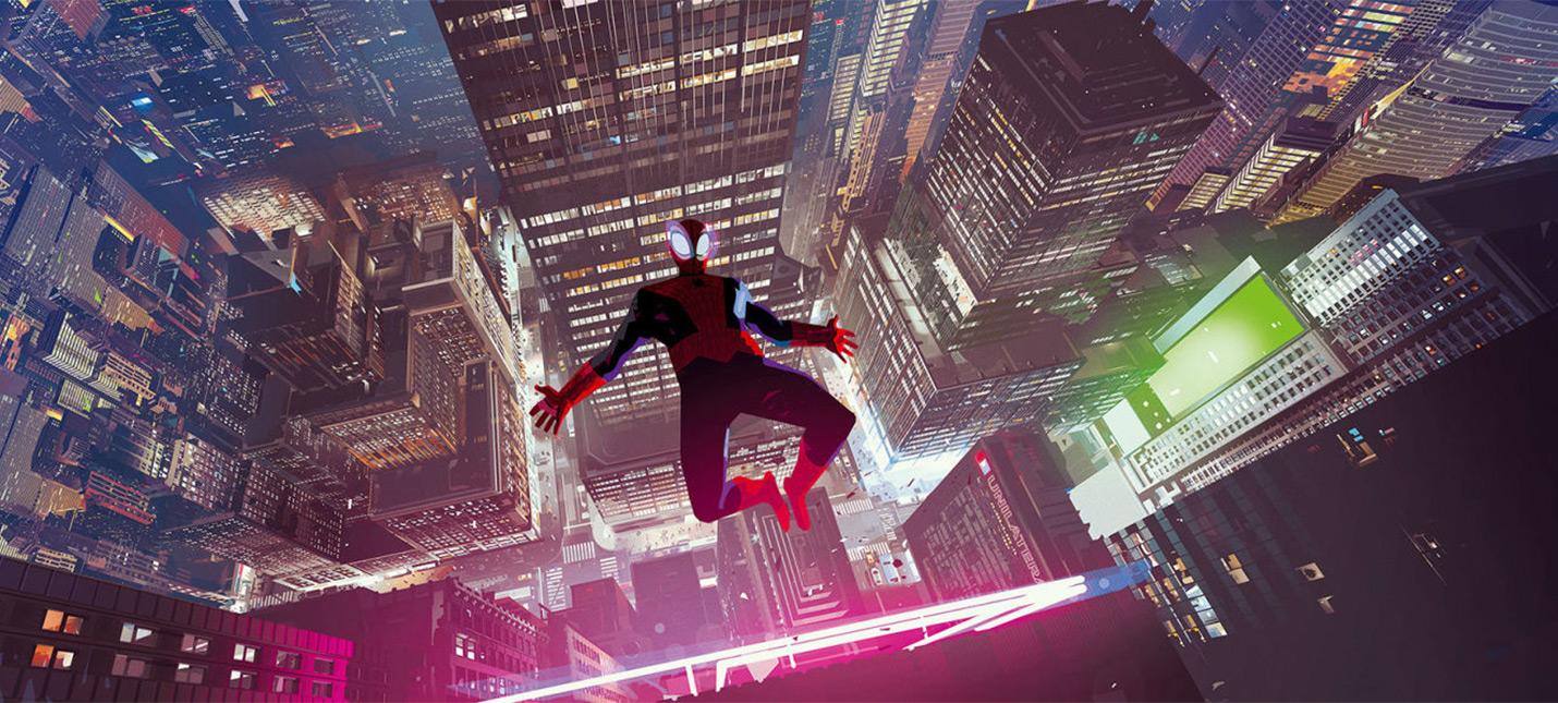 """Несколько иллюстраций из арт-бука """"Человек-паук: Через вселенные"""""""