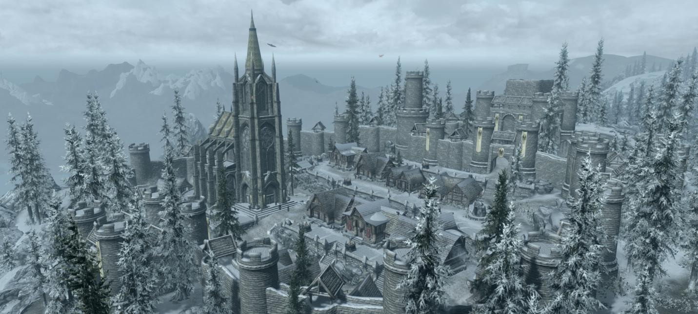 Новое геймплейное видео мода Beyond Skyrim: Morrowind