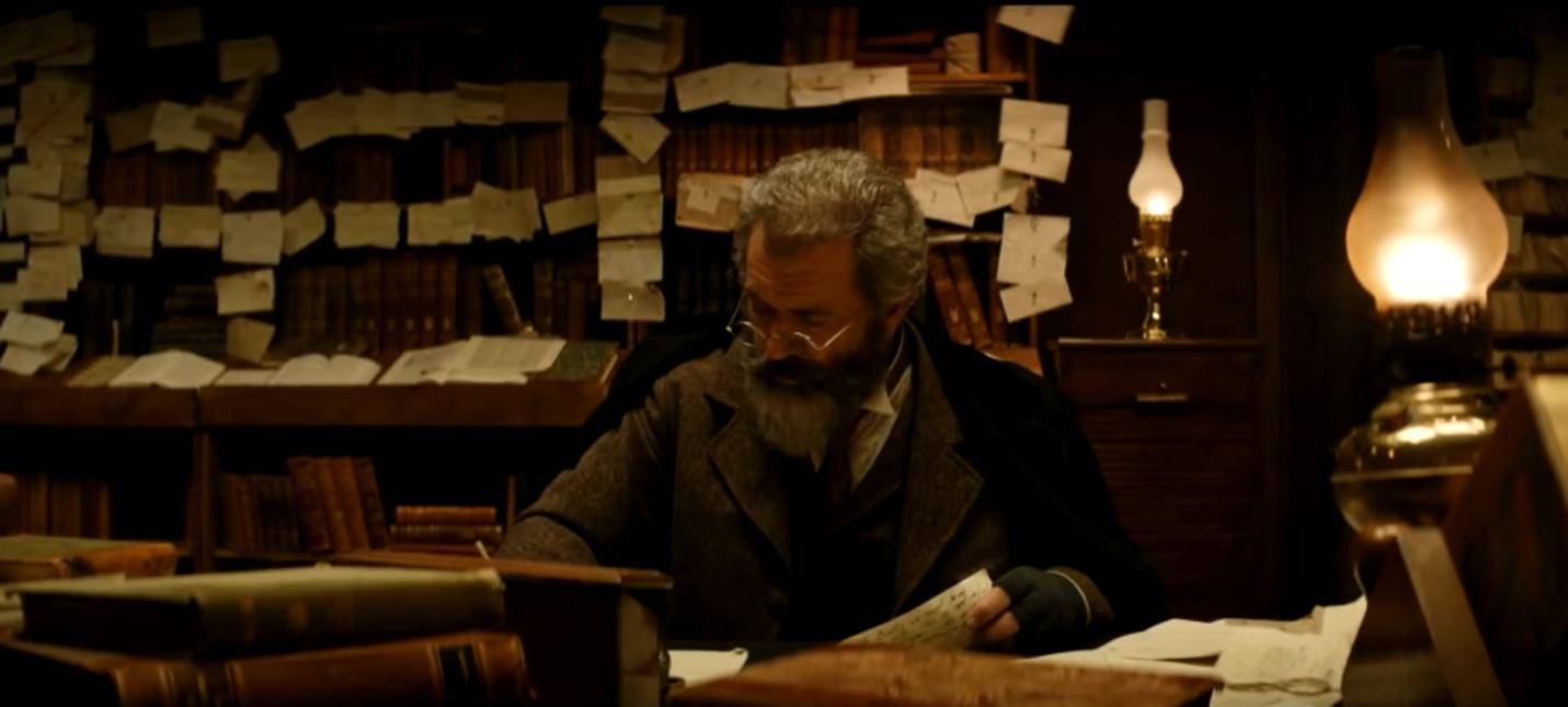 Первый трейлер The Professor and the Madman с Мэлом Гибсоном и Шоном Пенном