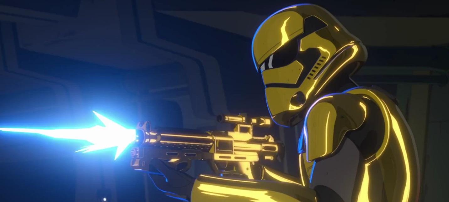 Трейлер новых эпизодов мультсериала Star Wars: Resistance