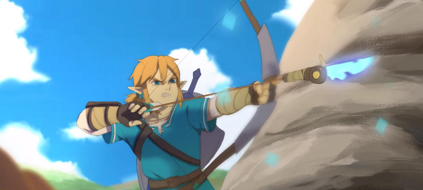 Фанаты сняли короткометражку по The Legend of Zelda: Breath of the Wild