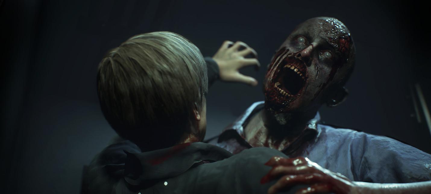 Открылась страница RE.net для ремейка Resident Evil 2 со статистикой игроков