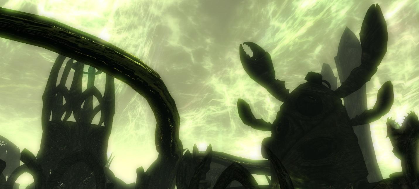 Моддер воссоздал в Skyrim локации и чудовищ из книг Говарда Лавкрафта