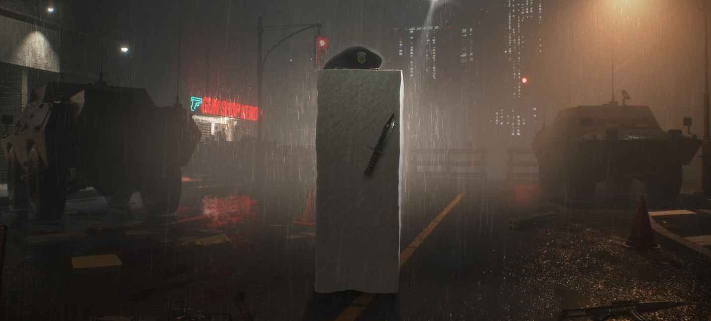 Новые скриншоты Resident Evil 2 с Ханком и куском тофу