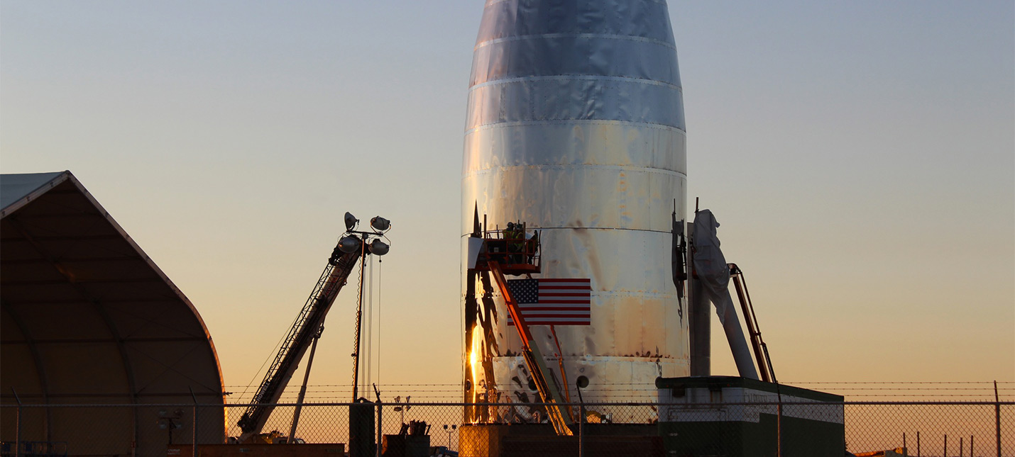 "Ракета Starship от SpaceX будет ""потеть"""
