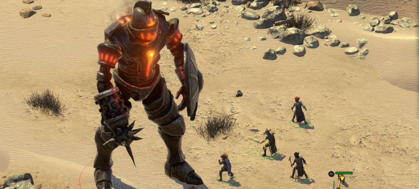 Завтра Pillars of Eternity 2: Deadfire получит режим пошаговых боев