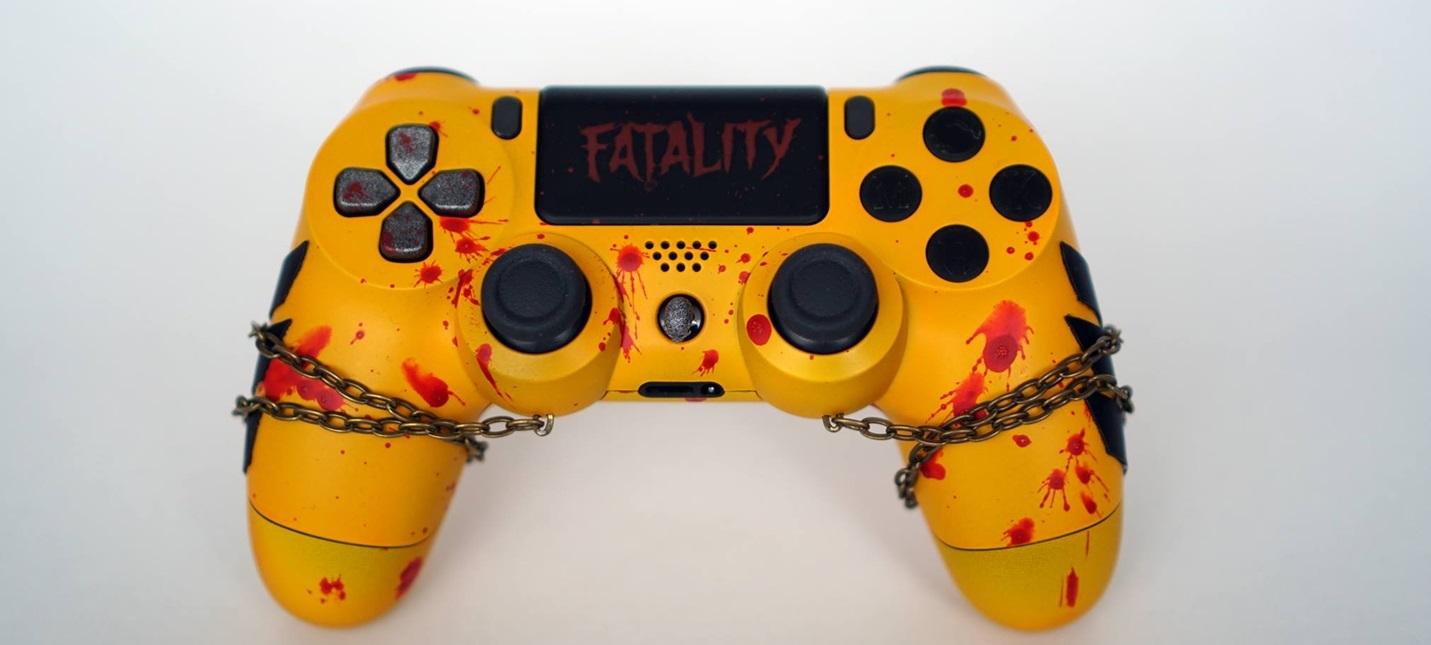 Дизайнер оформил DualShock 4 в стиле Скорпиона из Mortal Kombat