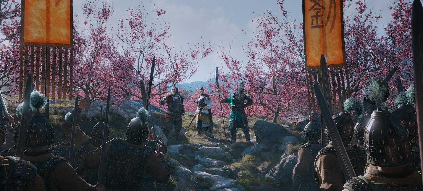 Пять минут геймплея Total War: Three Kingdoms