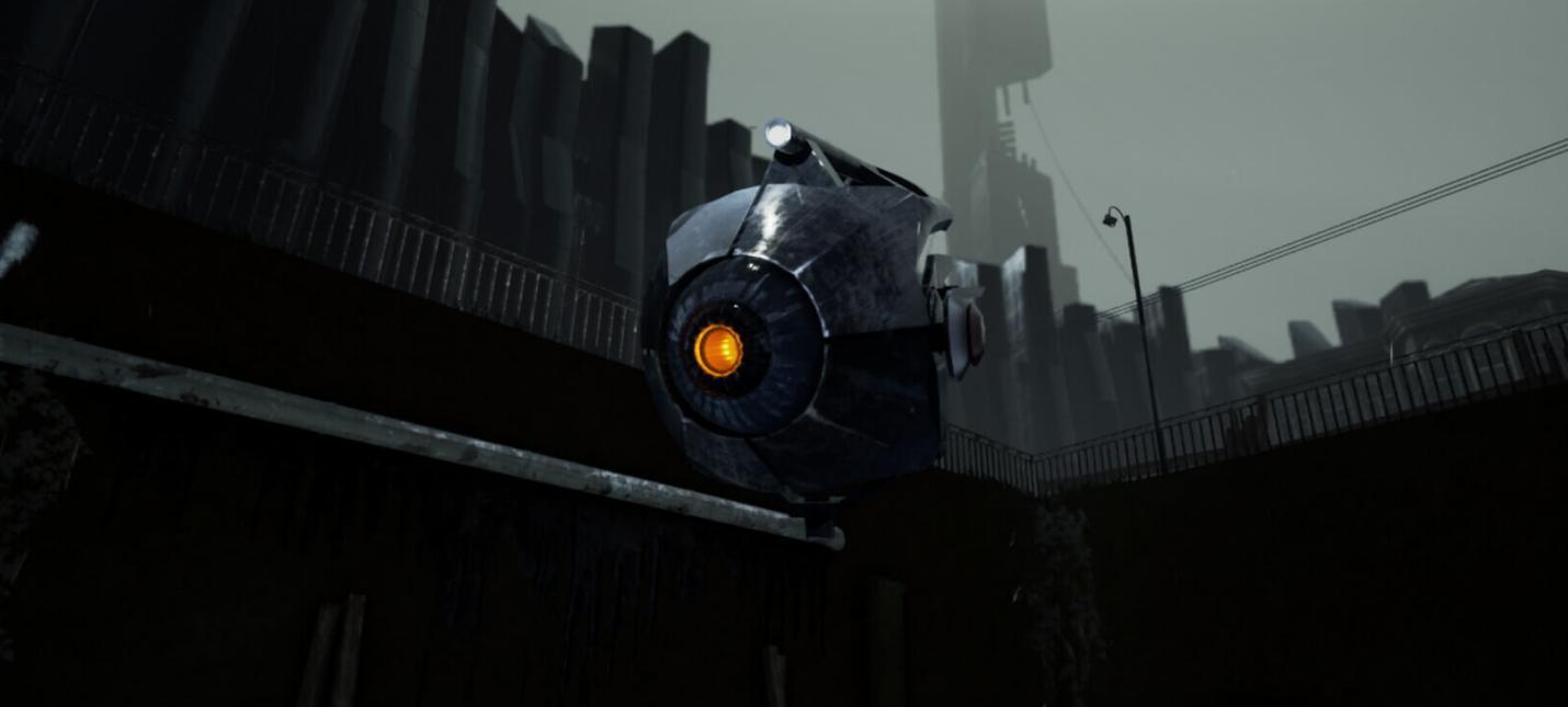 Атмосферный Half-Life 2 на Unreal Engine 4
