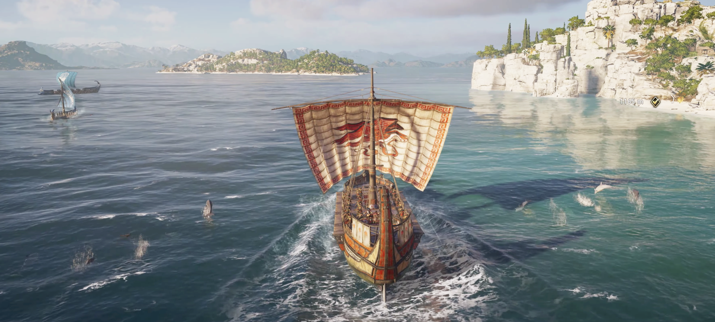 Корабельные песни из Assassin's Creed Odyssey оказались древнегреческими поэмами