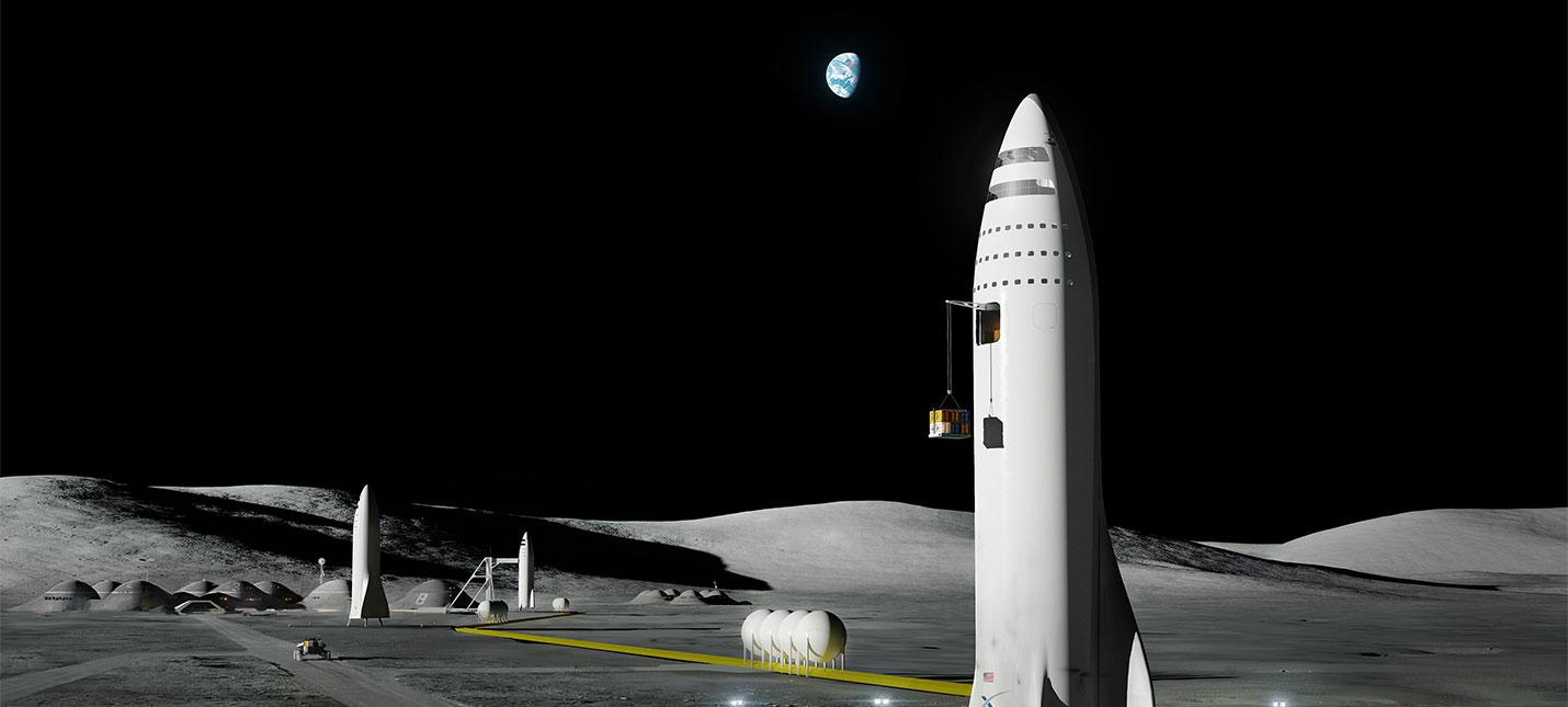 Илон Маск хочет долететь до Луны как можно быстрее