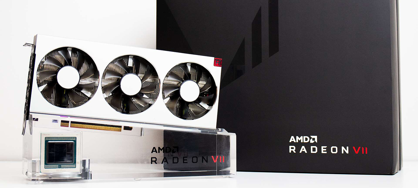 Анбоксинг видеокарты Radeon VII