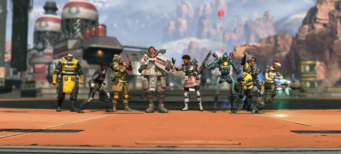 Respawn выпустила серию видео, посвященных персонажам Apex Legends