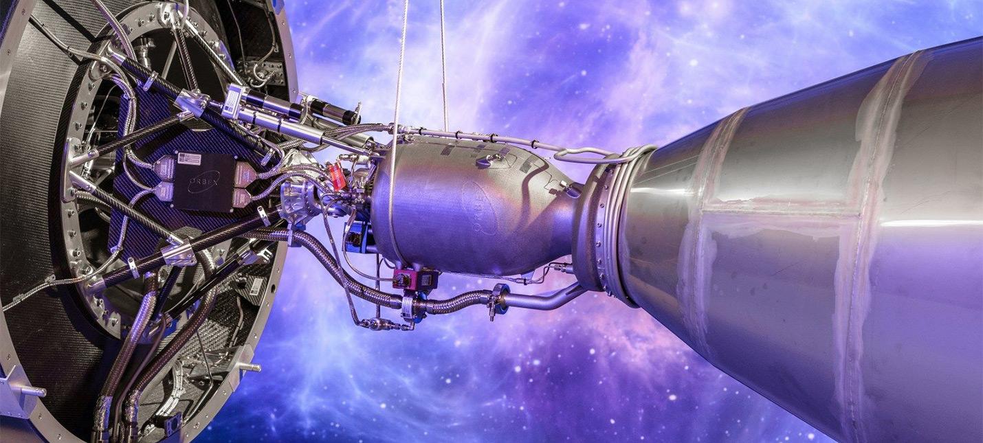 Вот как выглядит самый большой ракетный двигатель напечатанный на 3D-принтере