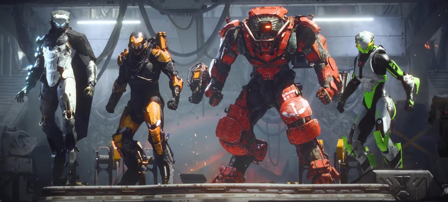 EA показала релизный трейлер Anthem